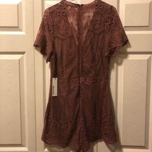 97d56f5cf801 Anthropologie Dresses - Haute Monde lace romper